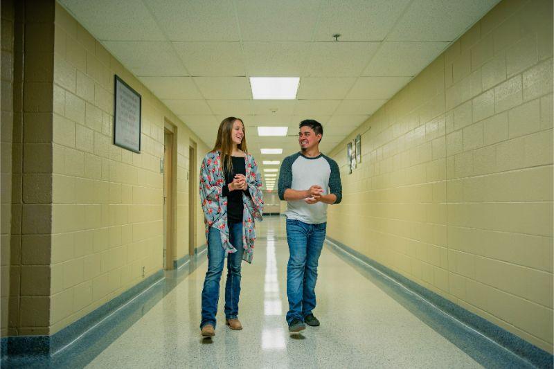 Mid-Del Tech Center Students