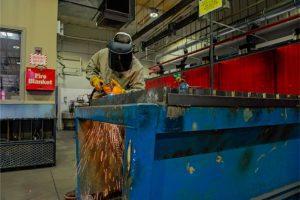MidDel Tech Center Welding Student