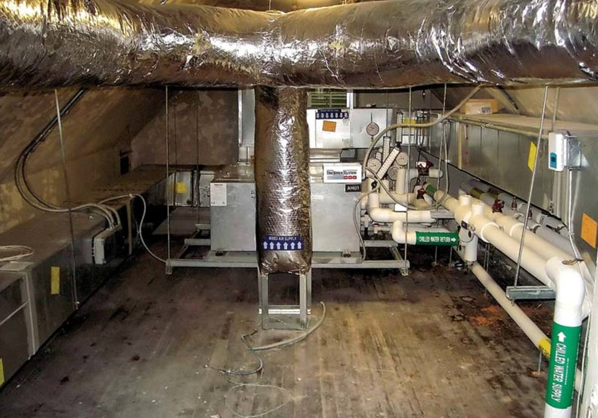 An Easy Hvac Retrofit For Old Houses Old House Restoration inside sizing 1200 X 826 - Attic Ideas